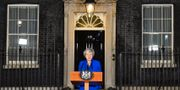 Theresa May. BEN STANSALL / AFP