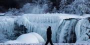 Niagrafallen fryser ofta till is på vintern – och synen är alltid lika mäktig. Reuters