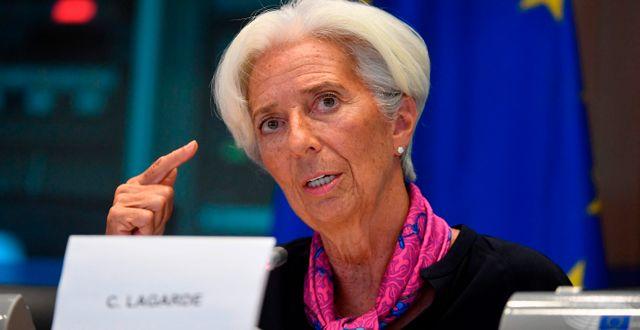 Christine Lagarde.  JOHN THYS / AFP