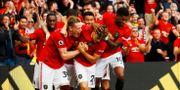Manchester United firar segern mot Chelsea. JASON CAIRNDUFF / BILDBYRÅN