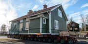 """Kulturbyggnaden """"Arbetarbostad B5"""" är den första att flytta till en ny tomt. Noella Johansson/TT / TT NYHETSBYRÅN"""