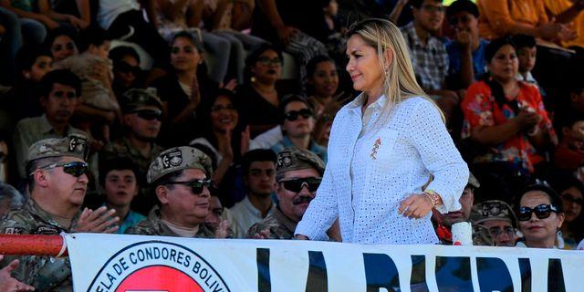 Jeanine Áñez. JORGE BERNAL / AFP
