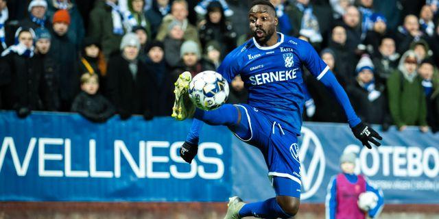 IFK Göteborgs Nzuzi Toko. MICHAEL ERICHSEN / BILDBYRÅN