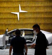 Polestars konceptbil visas upp i Peking 2020. Andy Wong / TT NYHETSBYRÅN
