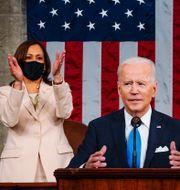 Kamala Harris och Joe Biden. Arkivbild. Melina Mara / TT NYHETSBYRÅN