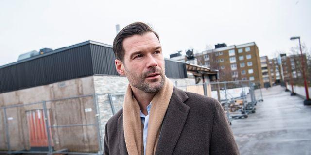 Johan Forssell, Moderaternas rättspolitiske talesperson. Johan Nilsson/TT / TT NYHETSBYRÅN