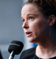 Amanda Lind. Henrik Montgomery/TT / TT NYHETSBYRÅN