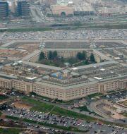Försvarshögkvarteret Pentagon. Charles Dharapak / TT NYHETSBYRÅN