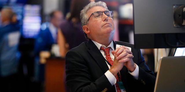 Illustrationsbild: Trader på Wall Street. Richard Drew / TT NYHETSBYRÅN