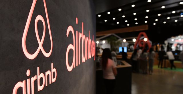 Airbnb. TOSHIFUMI KITAMURA / AFP
