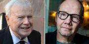 Kjell Espmark och Peter Englund. TT