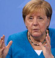 Angela Merkel Christian Mang / TT NYHETSBYRÅN