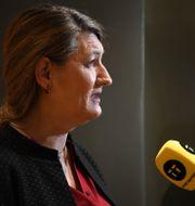 LO:s ordförade Susanna Gideonsson.  Fredrik Sandberg/TT / TT NYHETSBYRÅN