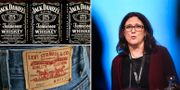 Bourbon, jeans och Cecilia Malmström  AP/TT