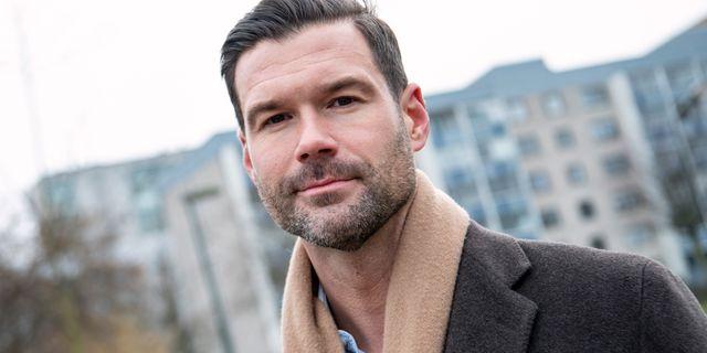 Johan Forssell (M). Johan Nilsson/TT / TT NYHETSBYRÅN