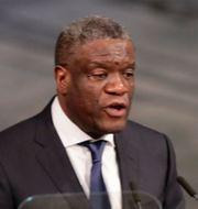 Denis Mukwege. Berit Roald / TT NYHETSBYRÅN