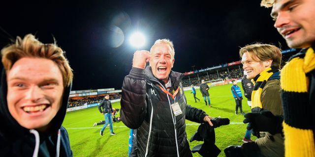 Hans Larsson. Patric Söderström / TT NYHETSBYRÅN