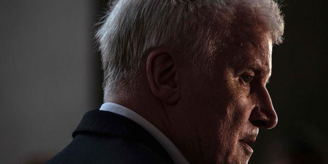 Inrikesminister Horst Seehofer. OMER MESSINGER / AFP