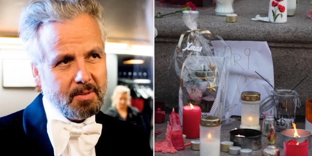 Ari Behn/Minnesplats för författaren. TT
