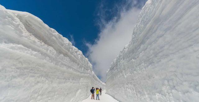 Tateyama Kurobe. En 50 minuter lång rutt genom Japans förtrollande alper.  Shutterstock