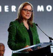 Arkivbild: General Motors vd Mary Barra.  Paul Sancya / TT NYHETSBYRÅN