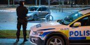 Polisinsatsen på platsen. Johan Nilsson/TT / TT NYHETSBYRÅN