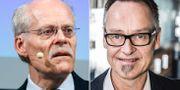 Riksbankschefen Stefan Ingves, Danske Banks chefsekonom Michael Grahn. TT