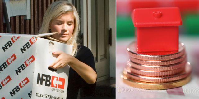 Sex av tio unga utan bostad har inte råd att köpa – men hälften skulle kunna få hjälp till eget boende av sina föräldrar, visar en mätning av Sifo. TT