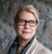 Byggföretagens vd Catharina Elmsäter Svärd och näringsminister Ibrahim Baylan (S Lars Pehrson/TT och Henrik Montgomery/TT