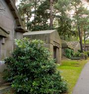 Norra begravningsplatsen i Solna/Pressbild. Stockholms stad