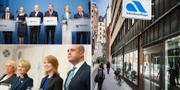 Löfven-regering och Reinfeldt-regering/Arbetsförmedlingen. TT