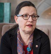 Utbildningsminister Anna Ekström, illustrationsbild från skola. TT
