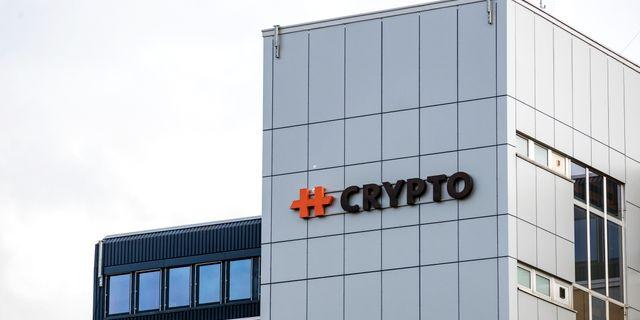Crypos huvudkontor. Alexandra Wey / TT NYHETSBYRÅN