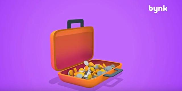 Skärmdump från deras reklam