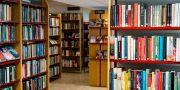 Bland annat stadsbiblioteken påverlas av sparkraven. Christine Olsson/TT / TT NYHETSBYRÅN