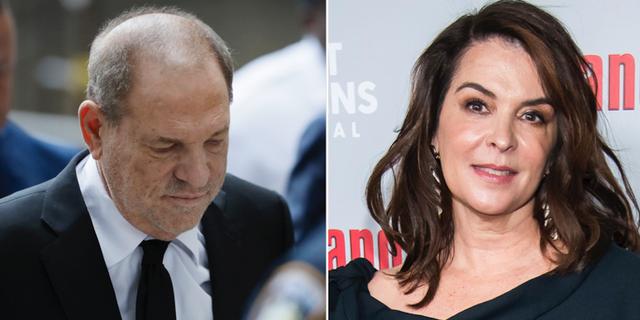Harvey Weinstein/Annabella Sciorra. TT