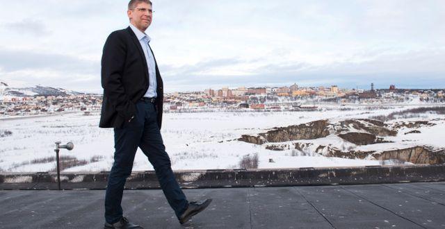 Arkivbild: Jan Moström, vd LKAB.  Fredrik Sandberg/TT / TT NYHETSBYRÅN