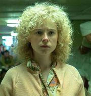 Jessie Buckley spelar rollen som brandmanshustrun Ljudmila i tv-serien Chernobyl. HBO Nordic