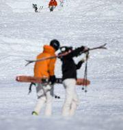 Skidåkare i backen. Illustrationsbild. Pontus Lundahl/TT / TT NYHETSBYRÅN