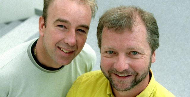 Moment Group är bolaget bakom fars-duon Stefan & Krister Maja Suslin/TT / TT NYHETSBYRÅN
