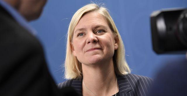 Finansminister Magdalena Andersson (S).  ?Thommy Tengborg/TT / TT NYHETSBYRÅN