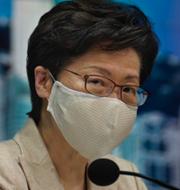 Carrie Lam/Människor i Hongkong.  TT