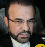 Reza Najafi, Irans sändebud till IAEA.  Ronald Zak / TT / NTB Scanpix