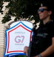 Just nu pågår G7-möte i Franska Chantilly där techskatten är en het fråga.  PASCAL ROSSIGNOL / TT NYHETSBYRÅN