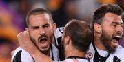 Juventus jublar. JOSEP LAGO / AFP