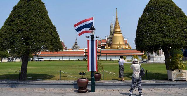 Turist i Thailand. Arkivbild.  CHALINEE THIRASUPA / TT NYHETSBYRÅN