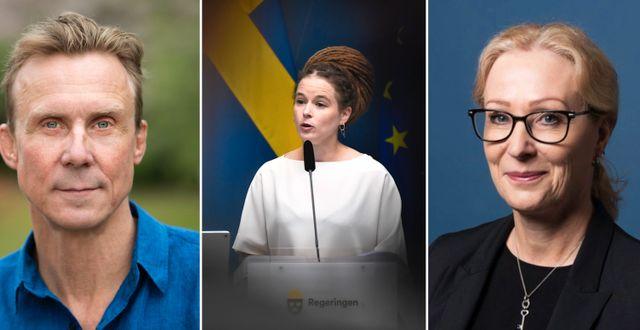 Norrthon, kulturminister Amanda Lind, Gustafsdotter TT; Sveriges Museer