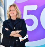 Allison Kirkby, vd och koncernchef för Telia. 2020. Jonas Ekströmer/TT / TT NYHETSBYRÅN