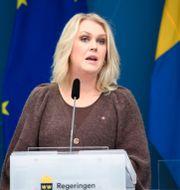 Lena Hallengren (S).  Amir Nabizadeh/TT / TT NYHETSBYRÅN