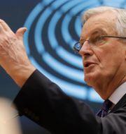 EU:s chefsförhandlare Michel Barnier. Arkivbild. Olivier Hoslet / TT NYHETSBYRÅN